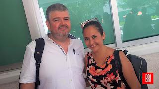 Salvador García y Paola Zarza.