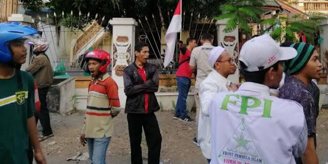 FPI Surabaya Akui Kerahkan Anggota saat Kejadian Asrama Mahasiswa Papua