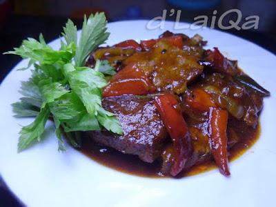 Daging Sapi Saus Barbeque ala Rika (3)