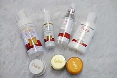 Premium White Glow Series dari Okkray Skincare