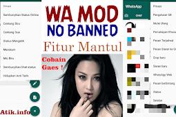 WhatsApp MOD Anti Blokir Dengan Fitur Mantul ! NEW
