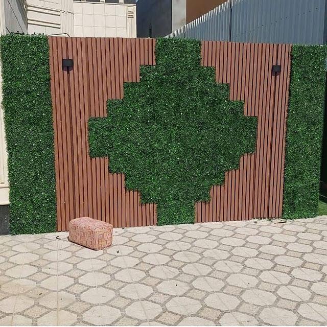 شركة تنسيق حدائق بالجبيل تصميم حدائق منزلية الجبيل وتركيب العشب الصناعي بالجبيل