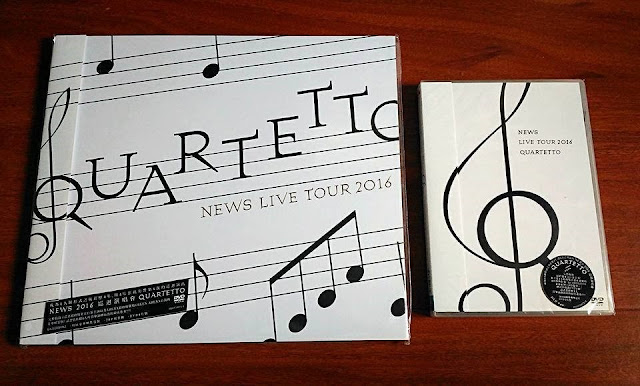 NEWS 2016巡迴演唱會「QUARTETTO」