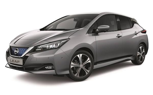 Nissan Leaf ganha novidades para a linha 2021