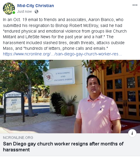 https://www.ncronline.org/news/parish/san-diego-gay-church-worker-resigns-after-months-harassment?utm_source=OCT_19_M-YOUNG_BIANCO&utm_campaign=cc&utm_medium=email