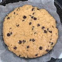 Cookie cuit à la poêle au bout de 15 mn de cuisson (One pan cooki)