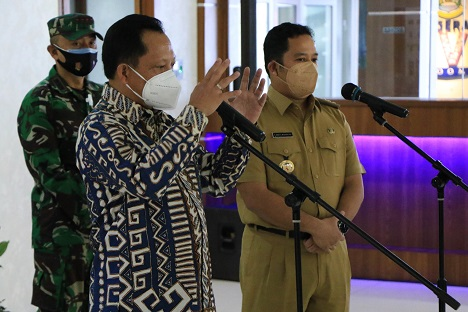 Mendagri Apresiasi Program Penanganan Covid-19 Dilaksanakan Pemkot Tangerang