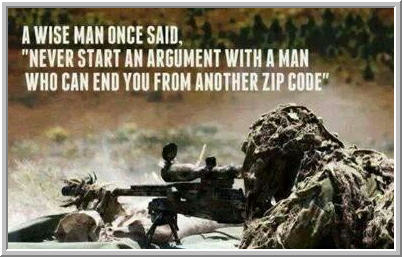 To it what is be a sniper like What Does