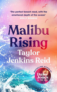Cover for Malibu Rising by Taylor Jenkins Reid
