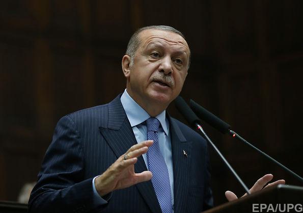 Ердоган назвав Ізраїль терористичною державою