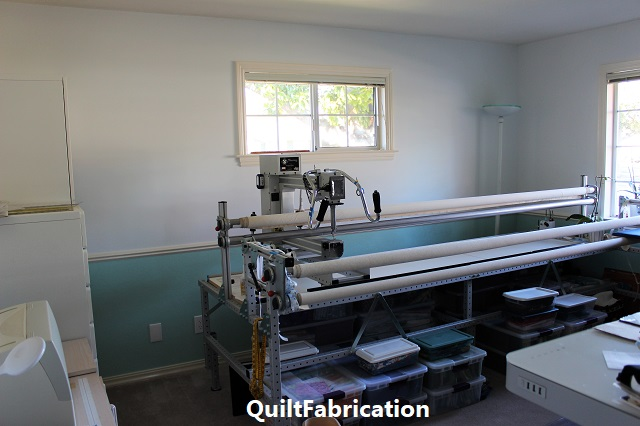 QuiltFabrication studio update