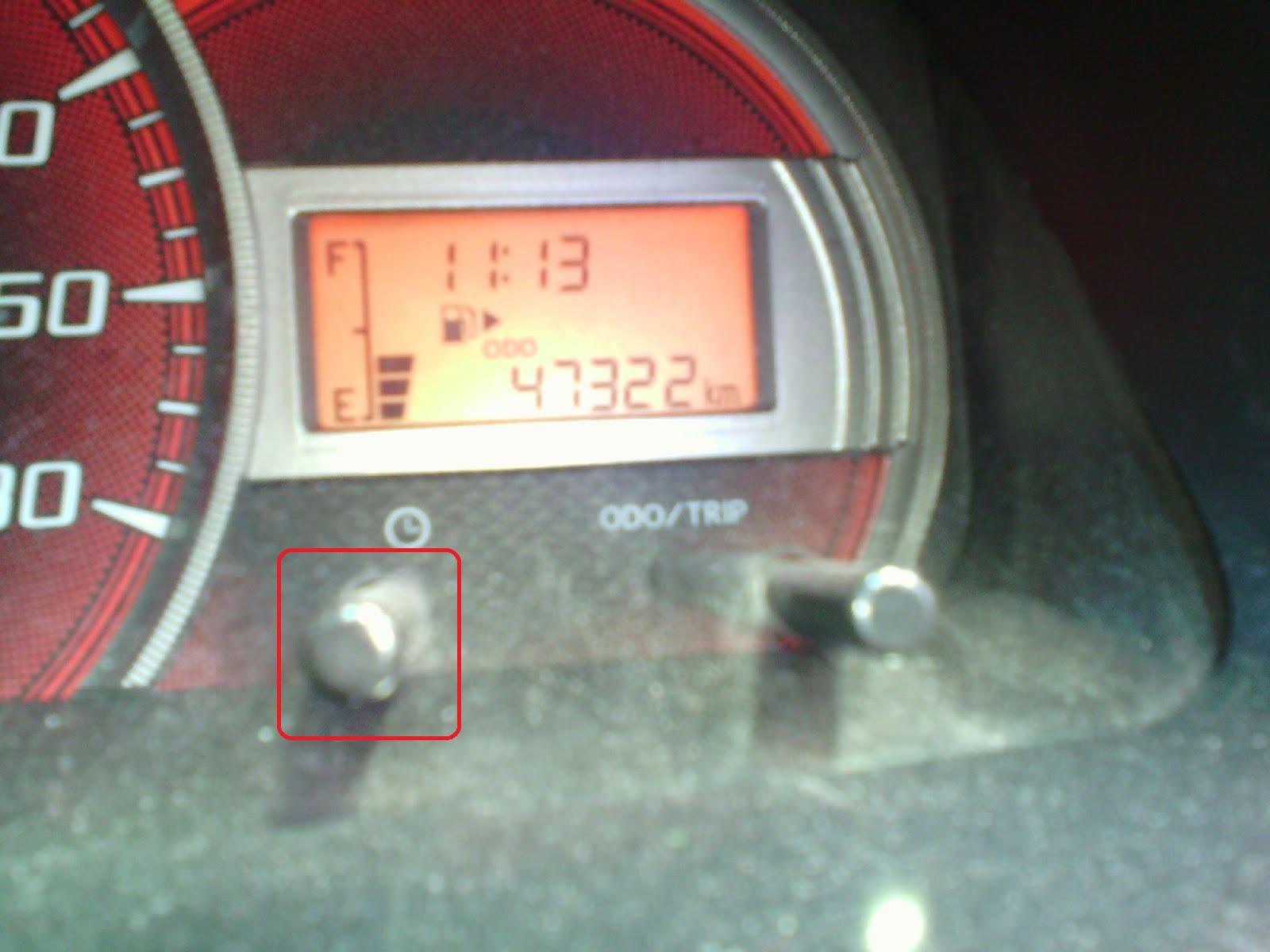 cara setting alarm grand new avanza top speed veloz jitu mengatur jam pada mobil 2013 2014