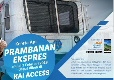 Tiket KA Prameks Online