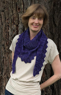 87328a35797 We have a new giveaway! Barb and Tracie love the new shawl design