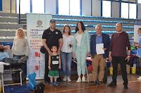 με τον κο Μπογδανίδη και την ειδική συνεργάτη Άθλησης του Περιφερειάρχη Αττικής Χριστίνα Γαλανοπούλου.