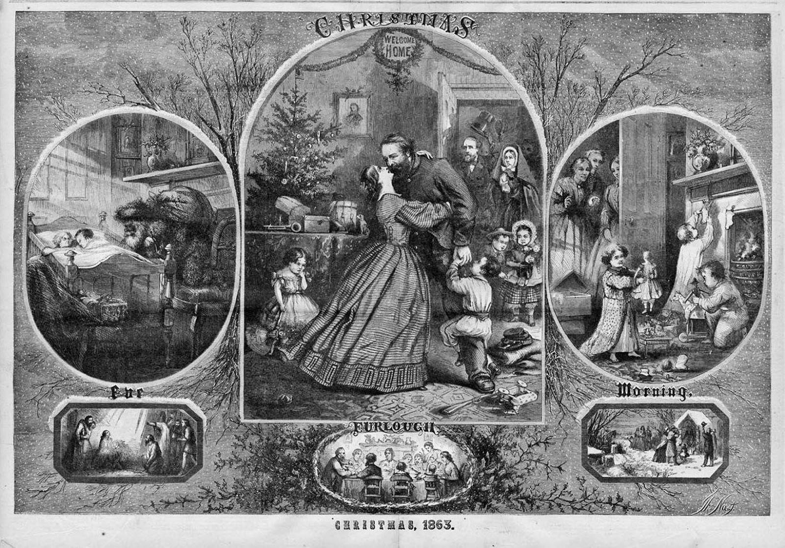 The Christmas Visions Of Thomas Nast The Man Who