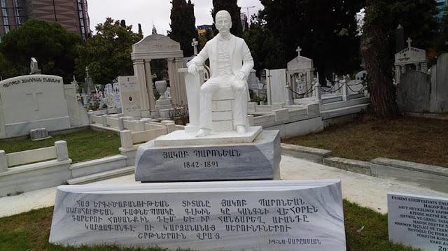 Monumento a Hakop Paronyan en Estambul