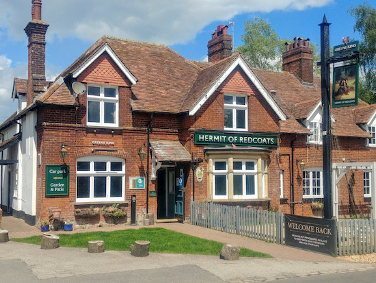 The Hermit Of Redcoats in Titmore Green