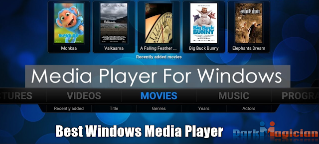 Top 6 Windows Media Player For PC User 2020