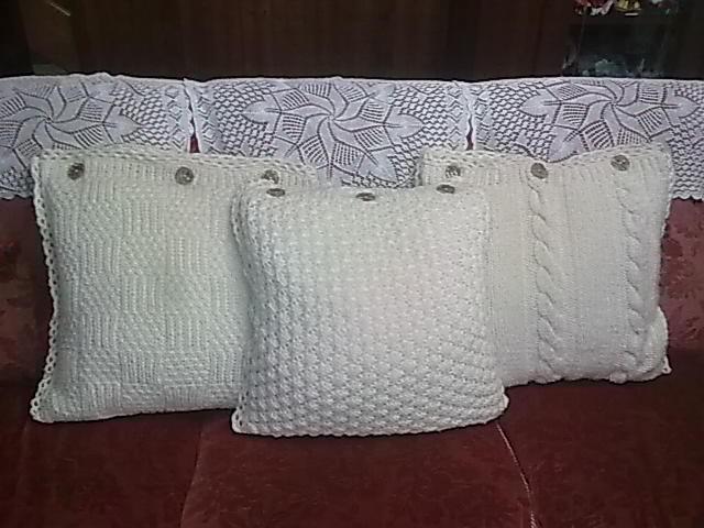 sapori di lana: cuscini