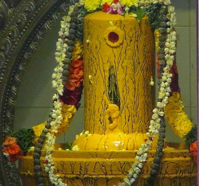 decorated Shiv Lingam on Mahashivratri