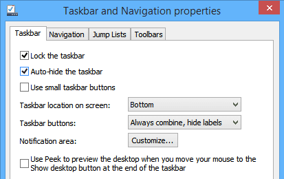 How to Auto Hide the Taskbar in Windows