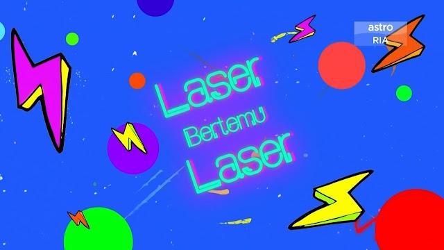 Laser Bertemu Laser