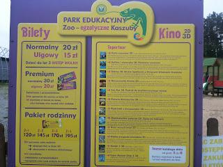 Park Edukacyjny Zoo Egzotyczne Kaszuby Tuchlino