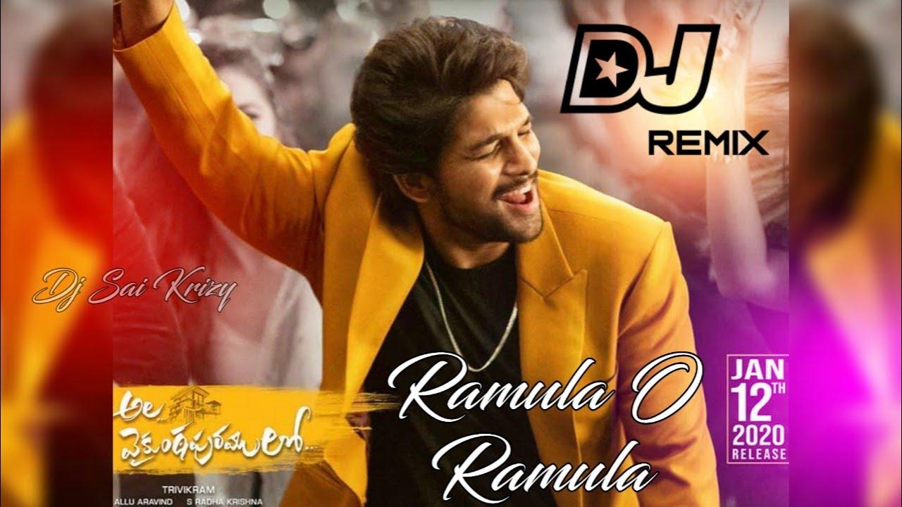Ramul O Ramula Dj Song Chatal Band Remix Ramulo Ramula Ala Vaikuntapuramu lo Dj Song DJ SAIKRIZY(www.newdjsworld.in)