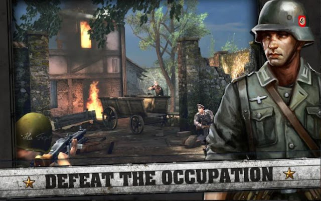 Game FPS Android Grafis Terbaik Frontline Commando D-Day