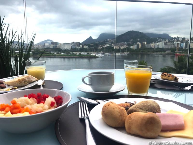 hotel com vista no Rio de Janeiro