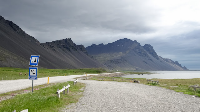 Rough scenery in Iceland