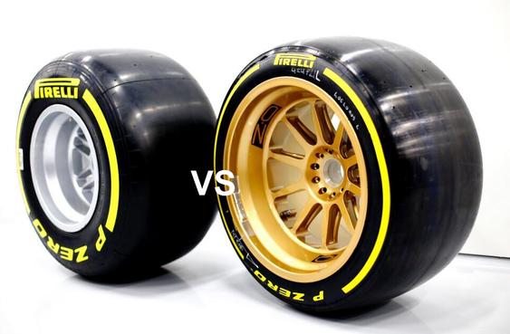 Efek Penggantian Regulasi Ukuran Velg 13 Inchi Menjadi 18 Inchi Pada Mobil F1 2022 Lks Otomotif