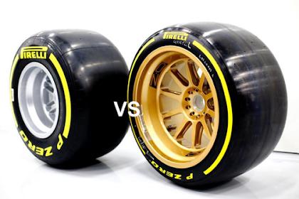 Efek Penggantian Regulasi  Ukuran Velg 13 Inchi Menjadi 18 Inchi Pada Mobil F1 2022