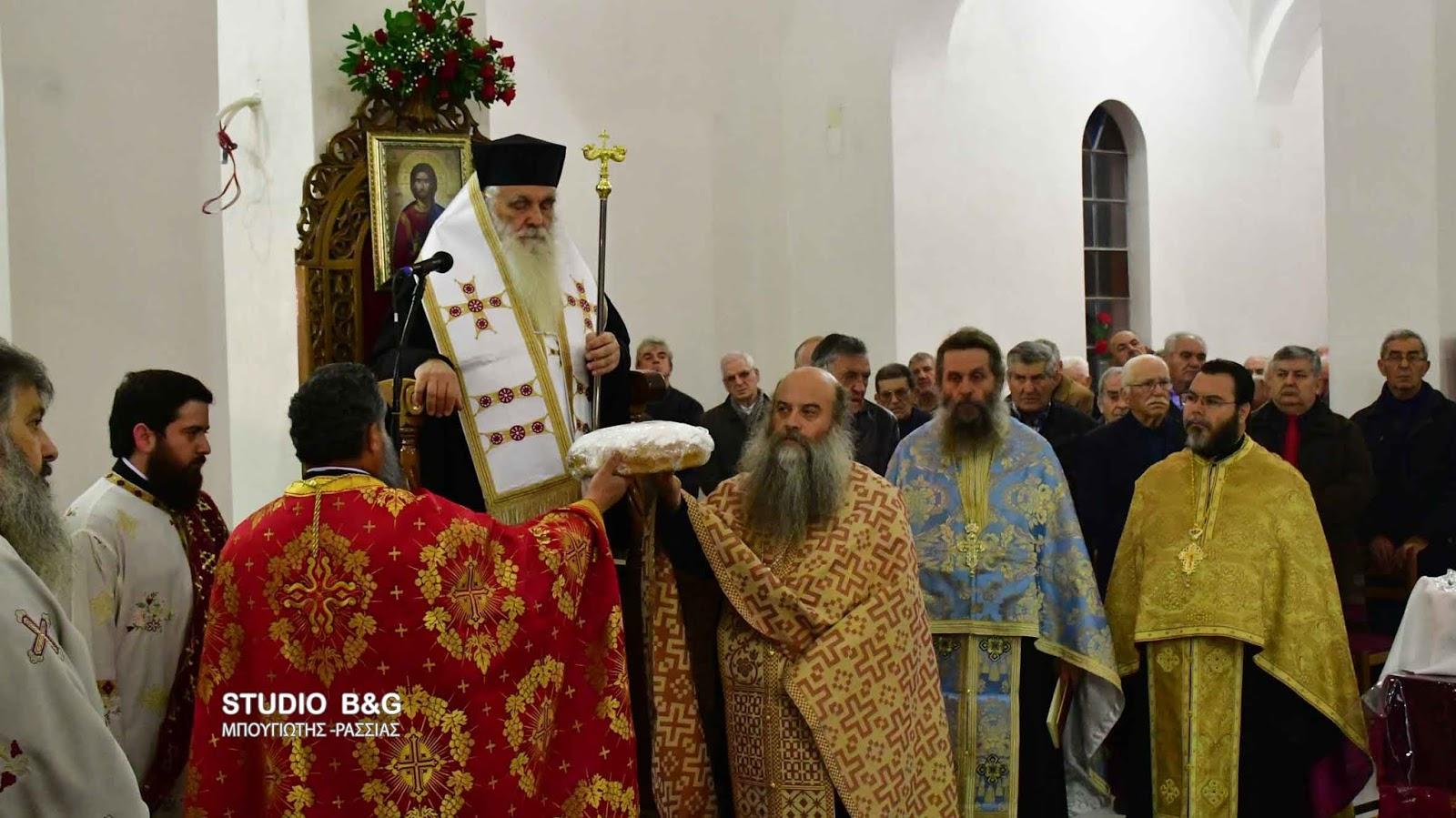 Η εορτή της Αγίας Βαρβάρας στον Ίναχο Αργολίδος