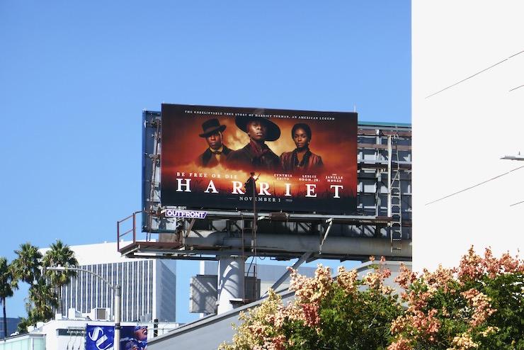 Harriet film billboard