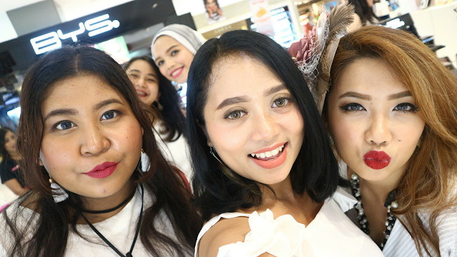 BYS COSMETICS GRAND OPENING IN BALI + ON THE GO MATTE EYESHADOW REVIEW