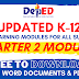 (Free Download) 2nd Quarter ADM Modules | All Grade Levels | All Subjects