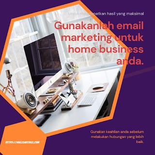 Tips membuat email marketing untuk usaha rumahan