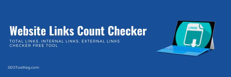Website Links Count Checker - Lookup Internal & External Links