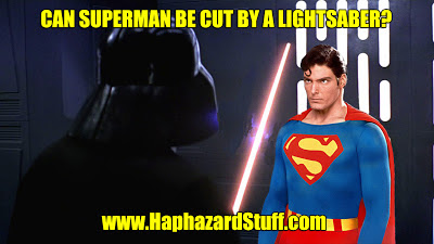 Superman Star Wars lightsaber
