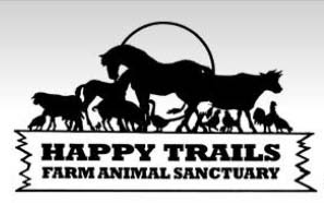 I Support Happy Trails Farm Animal Sanctuary