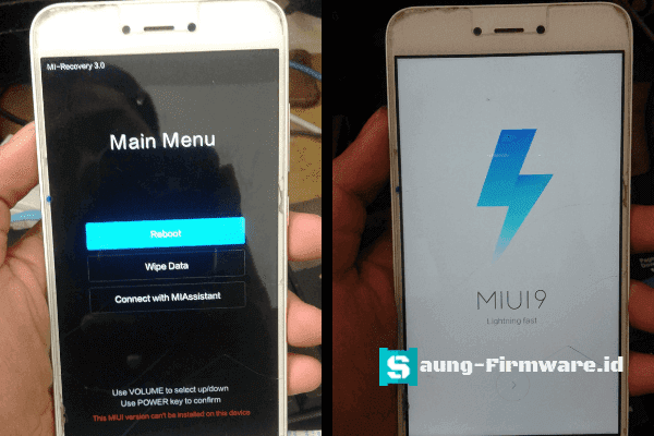 Mengatasi stuck recovery Redmi note 5A ugglite dengan qpst tested