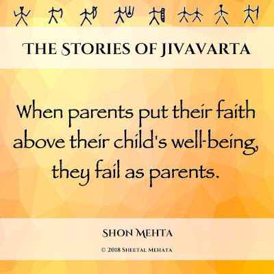 When parents put their faith above their child's well-being, they fail as parents.