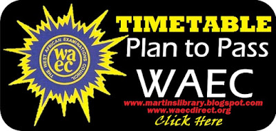 WAEC GCE Time Table 2017 | Download it Here