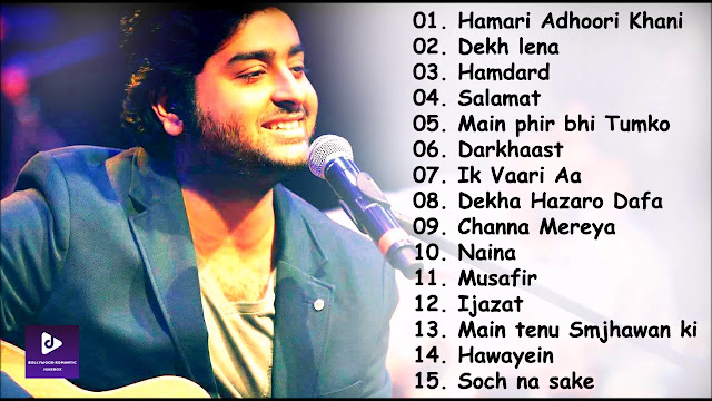 Top Latest Arijit Singh Best Songs New All Hit Mp3 Download List