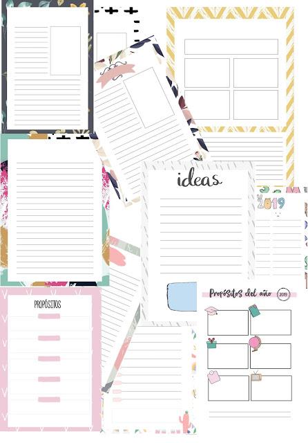 planners, agenda, planificadores, plantillas, powerpoint, editar, descargar