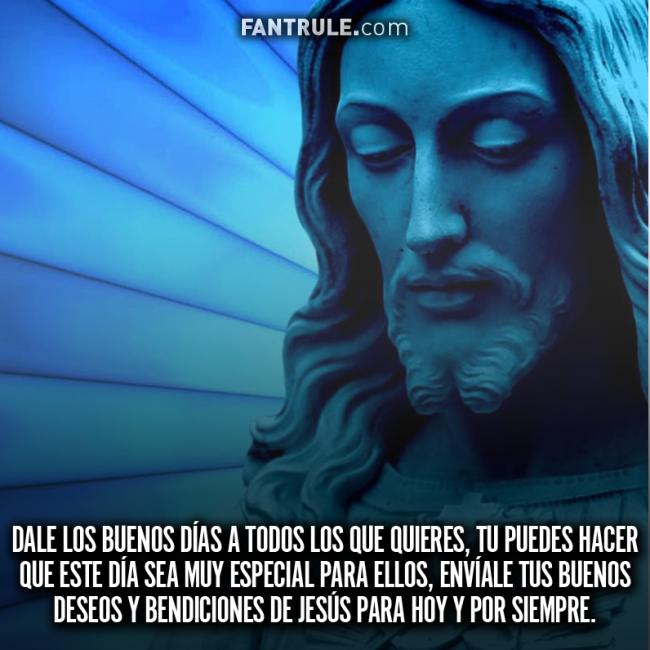 Imágenes Buenos Días Cristianas Jesús Te quiere Feliz Gracias Dios