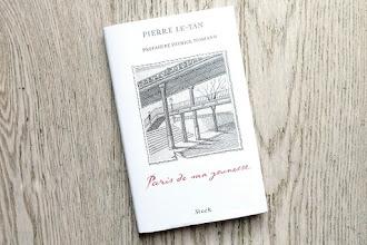 Lundi Librairie : Paris de ma jeunesse - Pierre Le-Tan