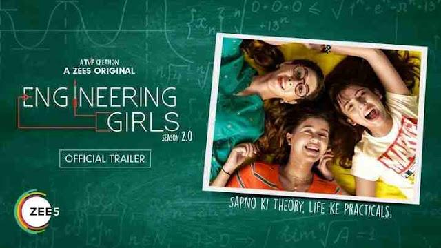 Engineering Girls season 2, Barkha Singh, Kritika Avasthi, Sejal Kumar